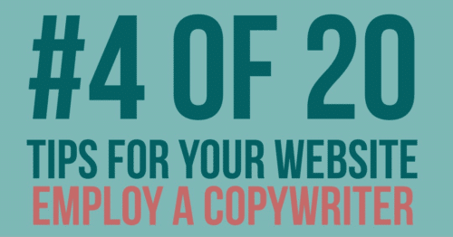 Employing a copywriter for SEO