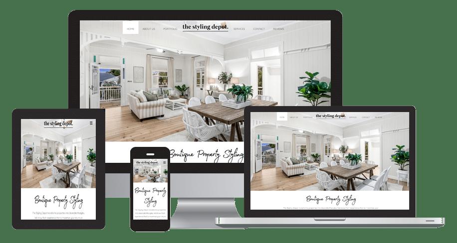 Home Stylist Website Design
